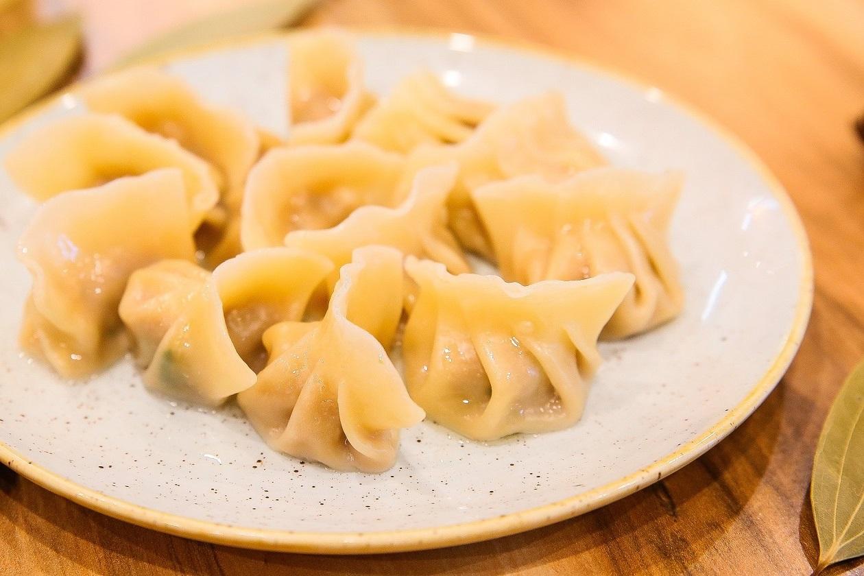 pot boiled dumplings